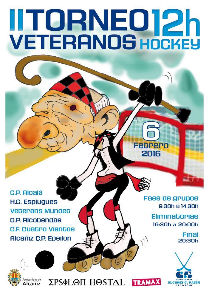 ALCAÑIZ CLUB PATÍN cartel 28